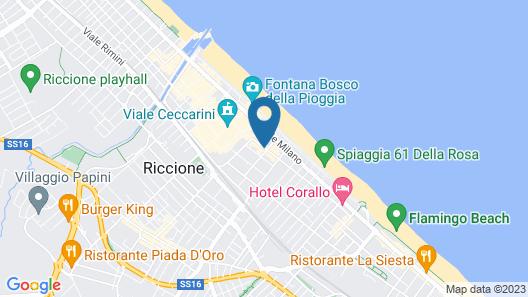 Grand Hotel Des Bains Map