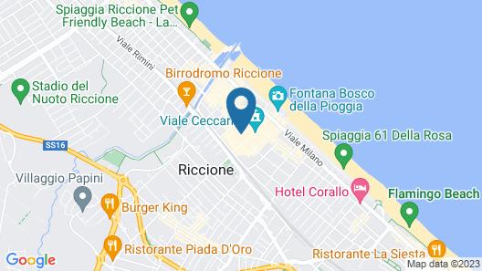 Metropol Ceccarini Suite Map