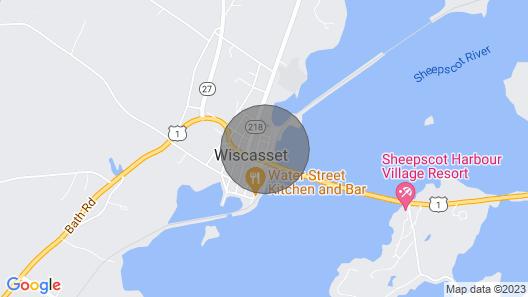 Lovely Studio W/full Kitchen/free Wifi- Next to River/antique Shops/restaurants! Map