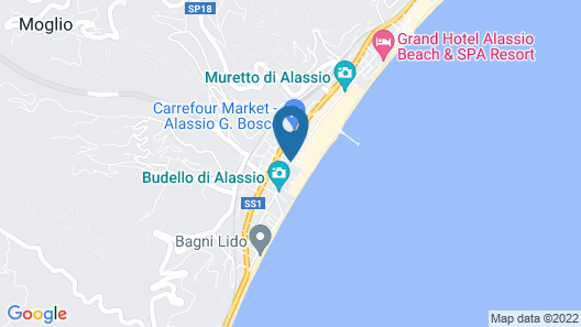 Residence San Marco Suites&Apartments Alassio Map