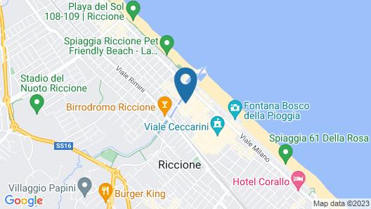 Al Cavallino Bianco Map