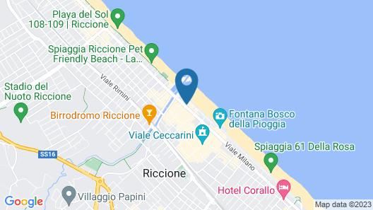 Hotel Mon Cheri Map