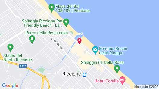 Residence Lungomare Map