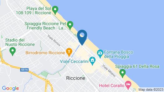 Milano & Helvetia Map