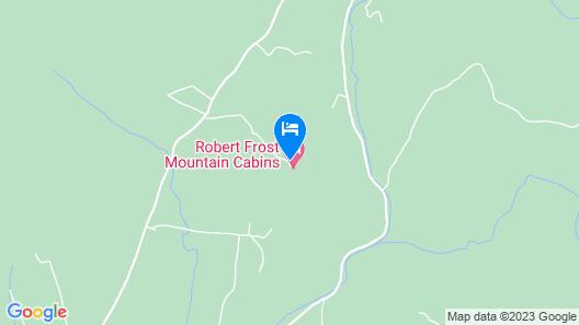 Robert Frost Mountain Cabins Map