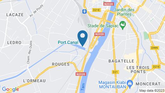 Rives du Sud Map