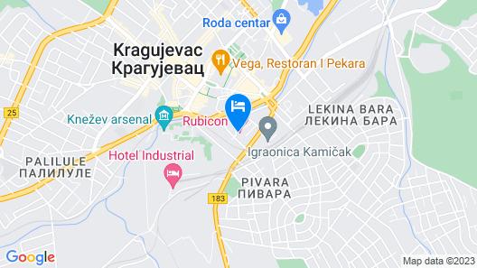 Rubicon Hotel Map
