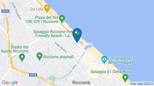 Hotel Michelangelo Map