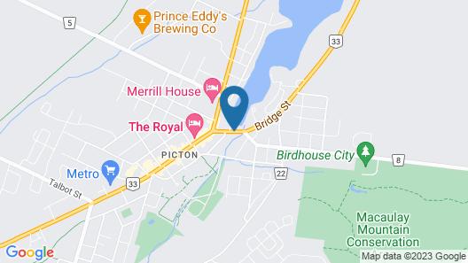 Picton Harbour Inn Map