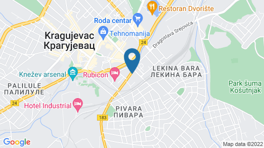 Onix Apartments - Studio Lux Map