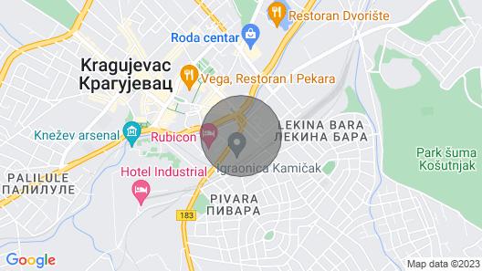 Onix Apartments - Rustik Map