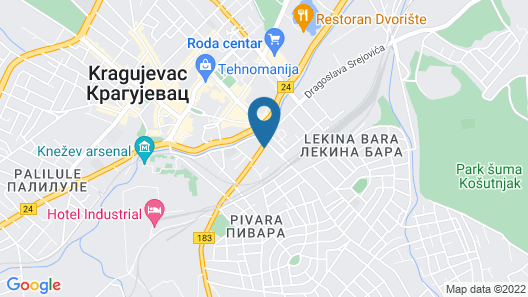 Onix Apartments - Rustik Lux Map