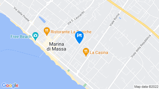 Hotel Luciana Map