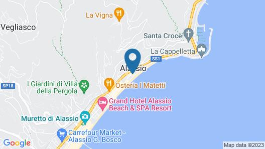 Hotel Beau Sejour Map