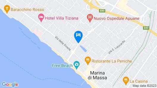 Hotel Luna Map