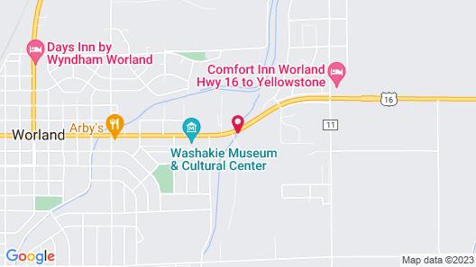 Travelodge by Wyndham Worland Map
