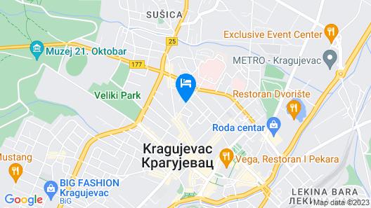 Hotel Andjelika Map