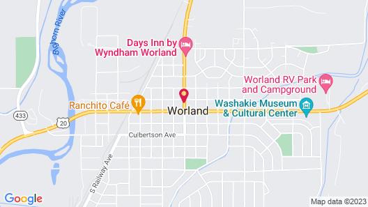 TOWN HOUSE MOTOR INN Map