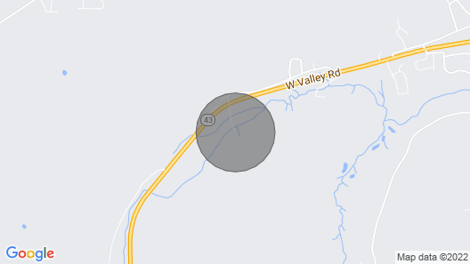 Creekside Cabin Getaway Map