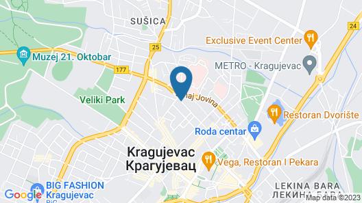 Hotel Ema Map