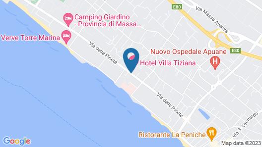 Hotel Villa Tiziana Map