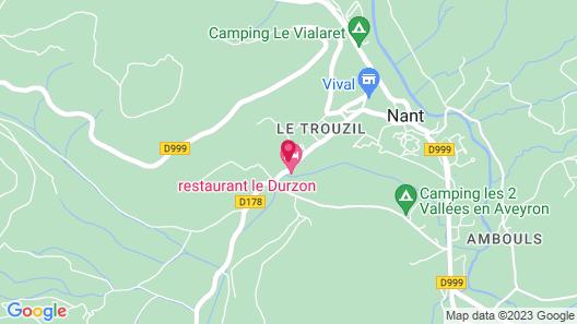 Le Durzon Map