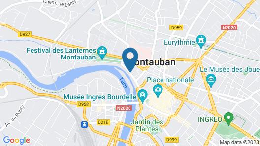 Abbaye des Capucins Spa & Resort Map