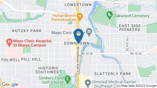 Hotel Indigo Rochester Downtown, an IHG Hotel Map