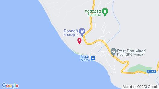 Lunnaya polyana Map