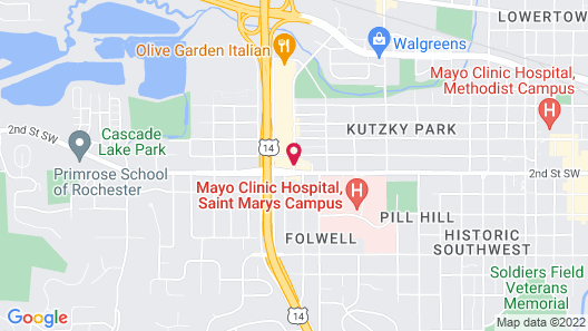 Holiday Inn Express & Suites Rochester – Mayo Clinic Area, an IHG Hotel Map