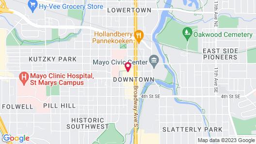 Marriott Rochester Mayo Clinic Map