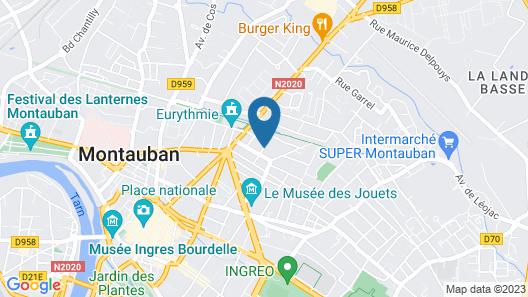 Le Studio de Montauban Map
