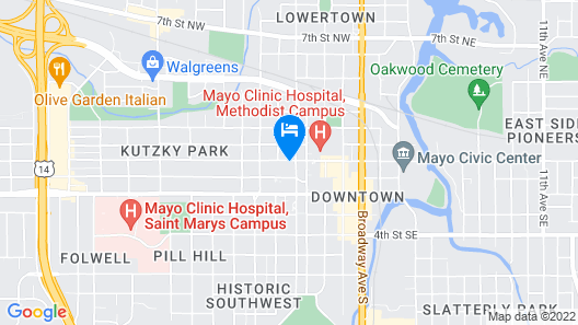 Residence Inn by Marriott Rochester Mayo Clinic Area Map