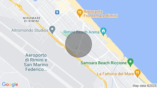 Appartamento Deluxe con 2 Camere da Letto Map