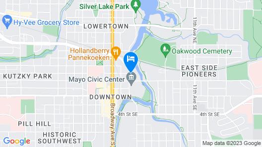 Riverview Suites Map