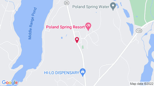 The Poland Spring Resort Map
