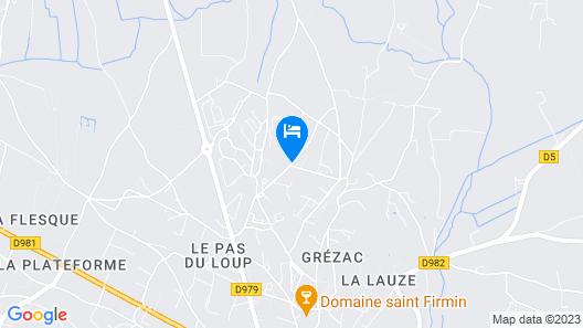 Hôtel Saint Geniès Map