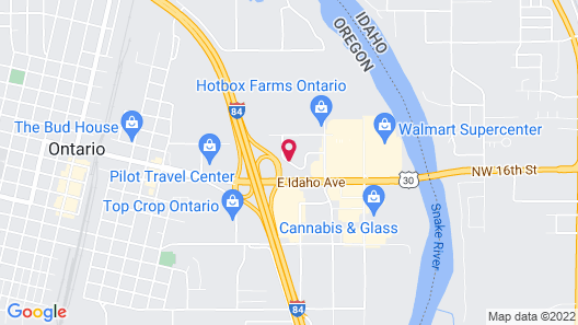 Clarion Inn Ontario Map