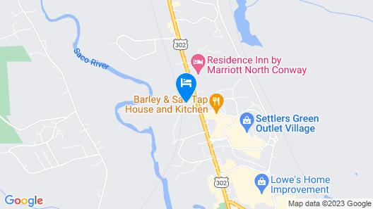 Holiday Inn Express North Conway, an IHG Hotel Map
