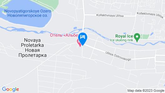 Hotel Alberia Map