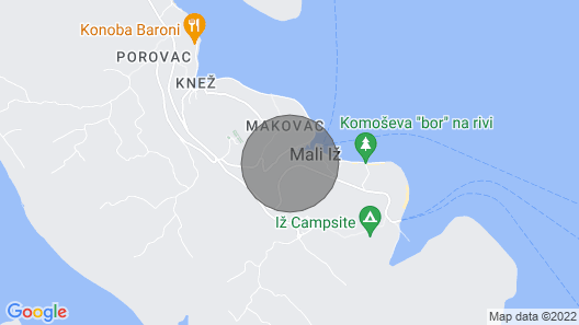Vacation Home Lavanda in Iž/iž Mali - 6 Persons, 3 Bedrooms Map