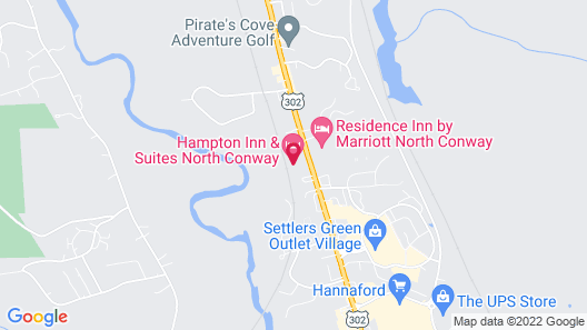 Hampton Inn & Suites North Conway Map