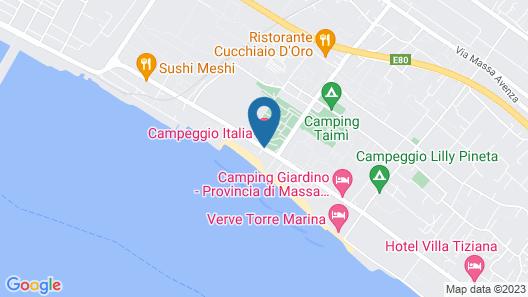 Campeggio Italia Map