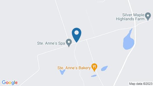 Ste. Anne's Spa Map