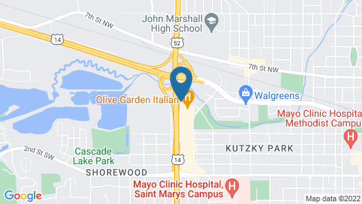 Fairfield Inn & Suites Rochester Mayo Clinic Area/St. Marys Map