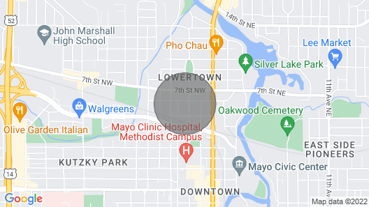 Single Level Living With Comfortable Recliners Map
