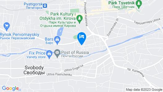 Apartamenty KMV Map
