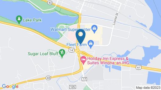 Express Suites Riverport Inn & Suites Map