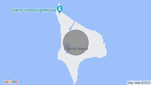 Charity Island Lightkeepers Home Big Charity Island Map