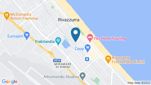 Hotel Rubens Map